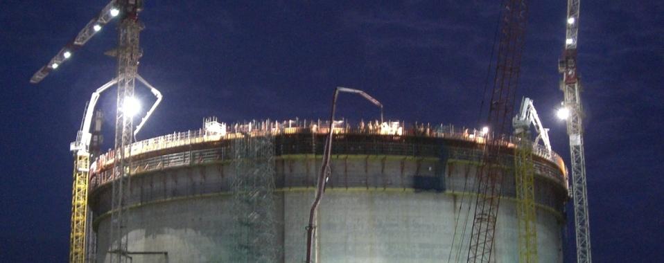 LNG Storage Installation