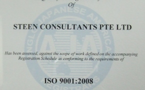 Registration Certificate ISO 9001:2008