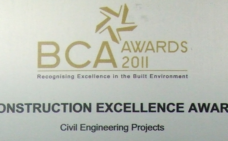 BCA Construction Excellence Award 2011 - Keppel Fels Pioneer Yard