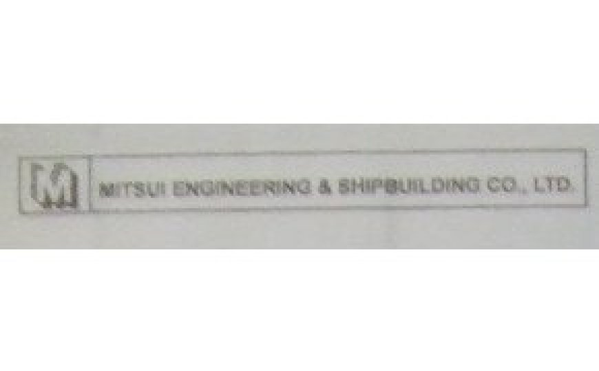 Commemoration from Mitsui Engineering & Shipbuilding Co Ltd for 2SP Plant 2006