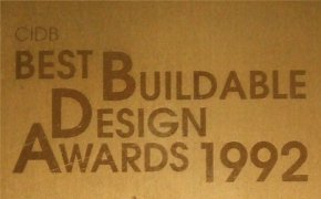 CIDB Best Buildable Design Awards 1992 for Ocean Towers