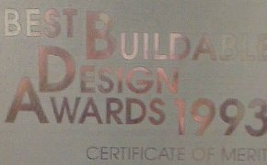CIDB Best Buildable Design Awards 1993 for Hitachi Tower